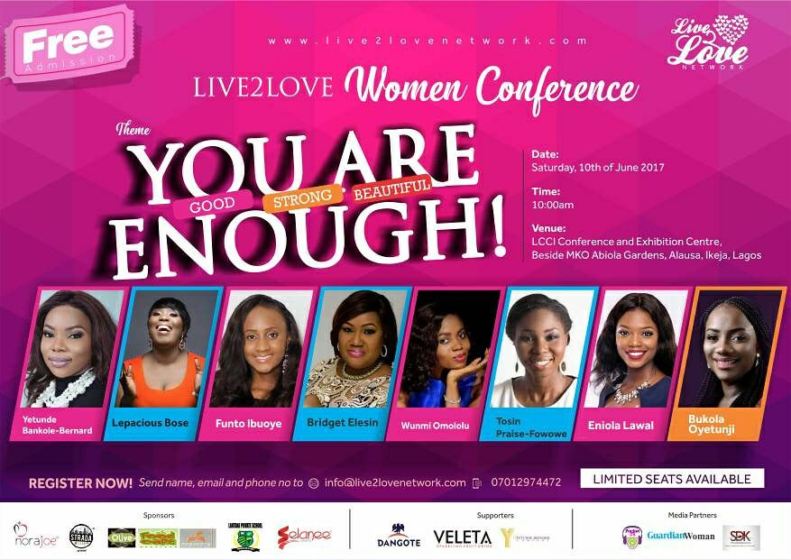 Attend Live2love Women Conference FREE!