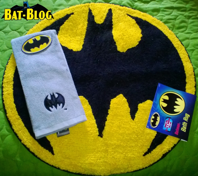 Check Out This Wonderful Photo Of A Couple Of The Brand New BATMAN Bathroom  Accessories Being Sold At Target. This Pic Was Sent In By A Long Time  Bat Blog ...