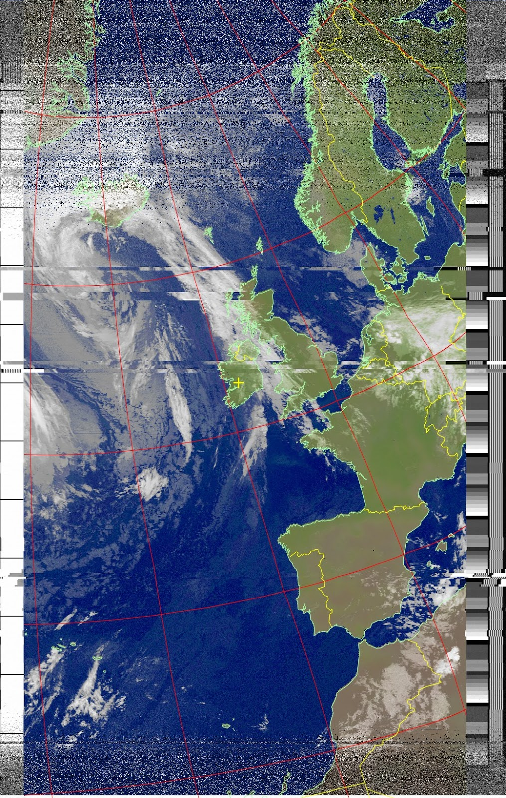 SDR For Mariners Moved To Radioforeveryonecom Weather Satellites - Noaa world satellite map