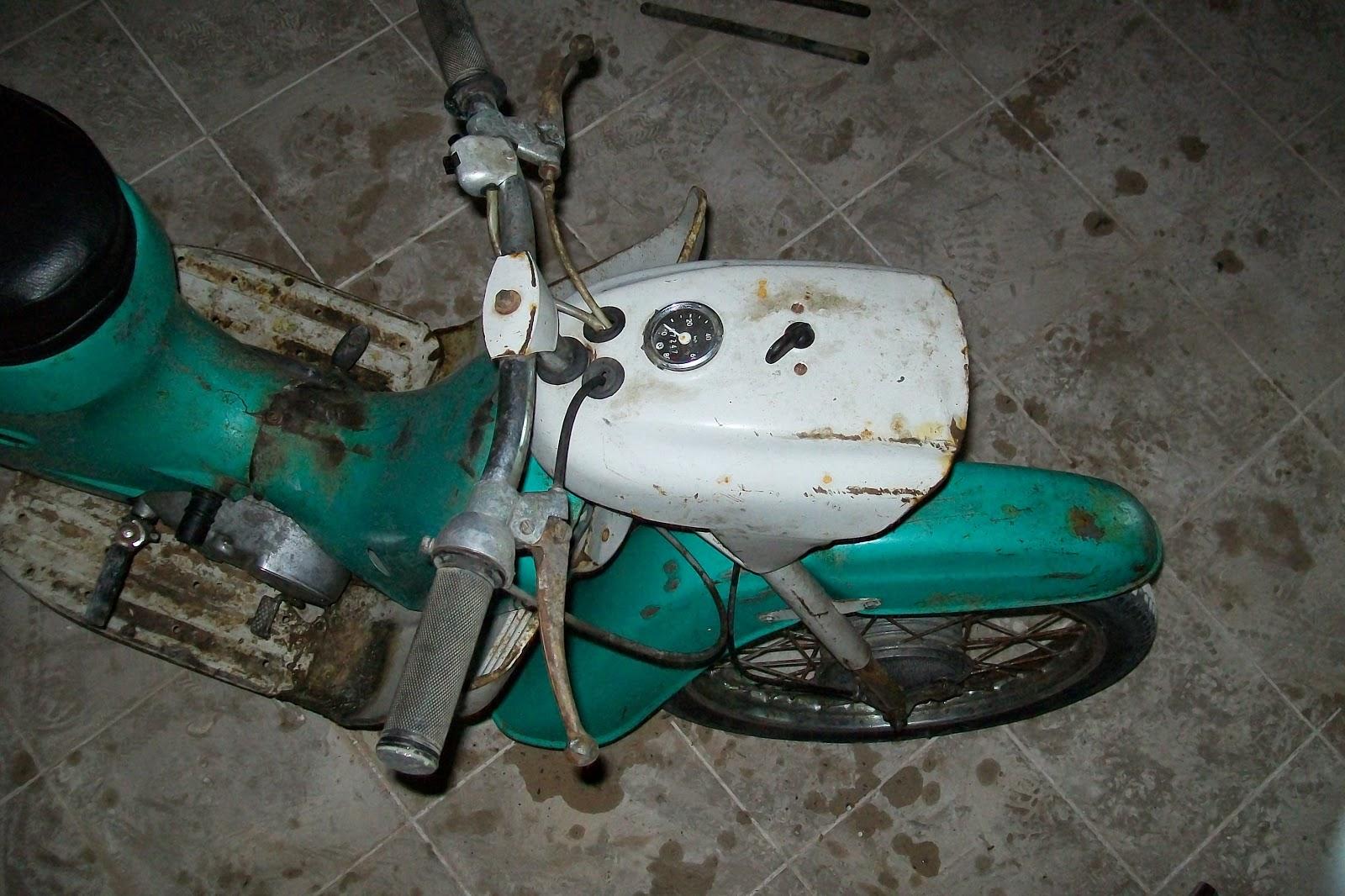 Jawa 50 typ 20 stan przed renowacją