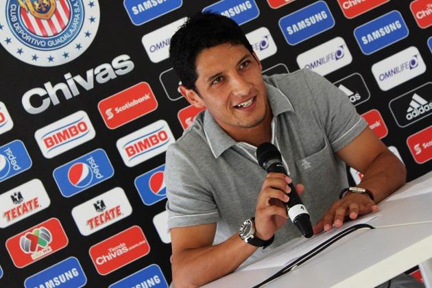 Ángel Reyna, atacante de Chivas.