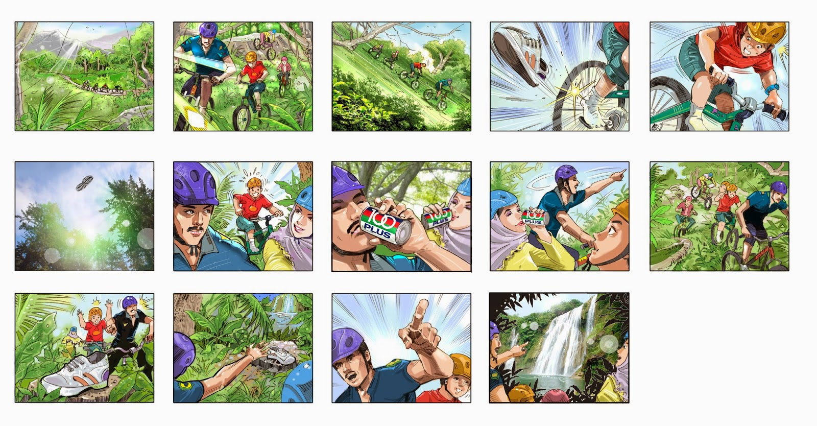 Superb STORYBOARD / VISUAL