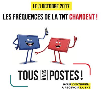 TNT changement le 3 octobre !