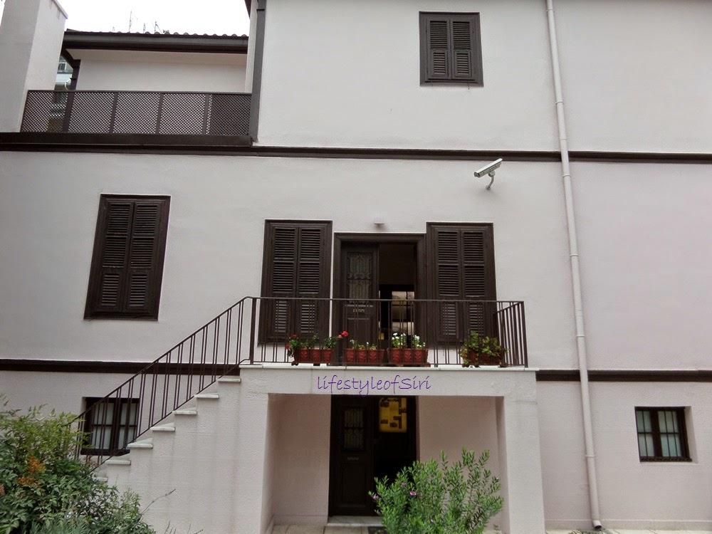 selanik- Atatürkün evi