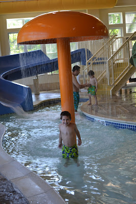 Hampton Inn & Suites Water Slides