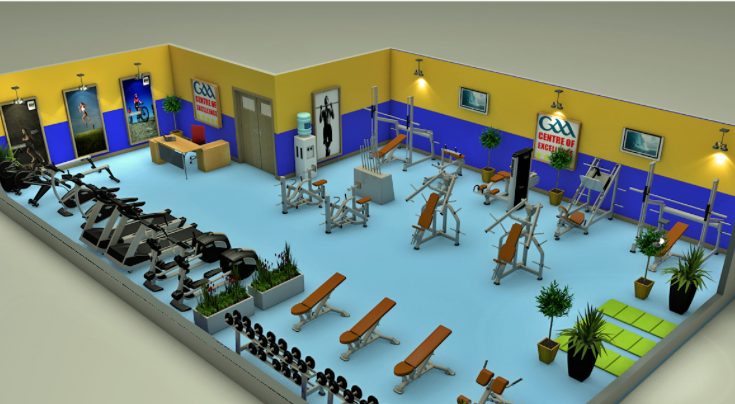 3d Modelling Gym Layout Ideas