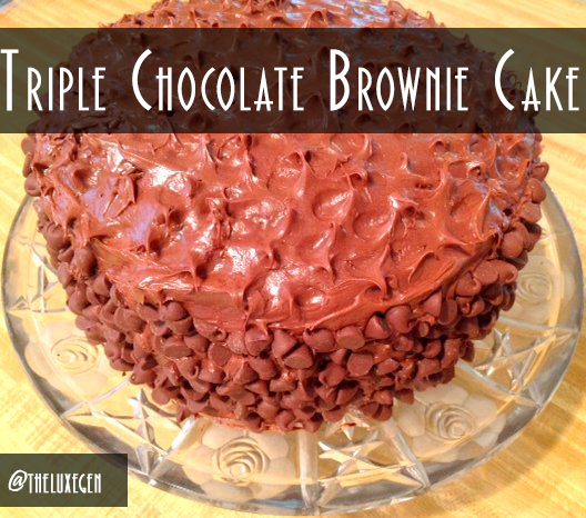 Chocolate Cake, Brownie, Recipe, Chocolate Chips, Triple Chocolate Foodgasm