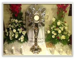 Adoracion al Santisimo Sacramento del Altar