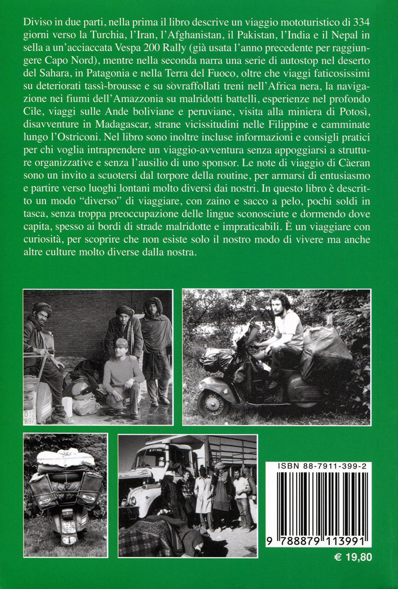 Quarta di copertina del 2° libro.