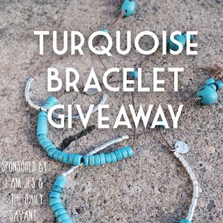turquoise bracelets, crystal bracelets, handmade bracelets, handmade jewelry, etsy, giveaway, freebie, freebie friday, free stuff, contest, sweepstakes