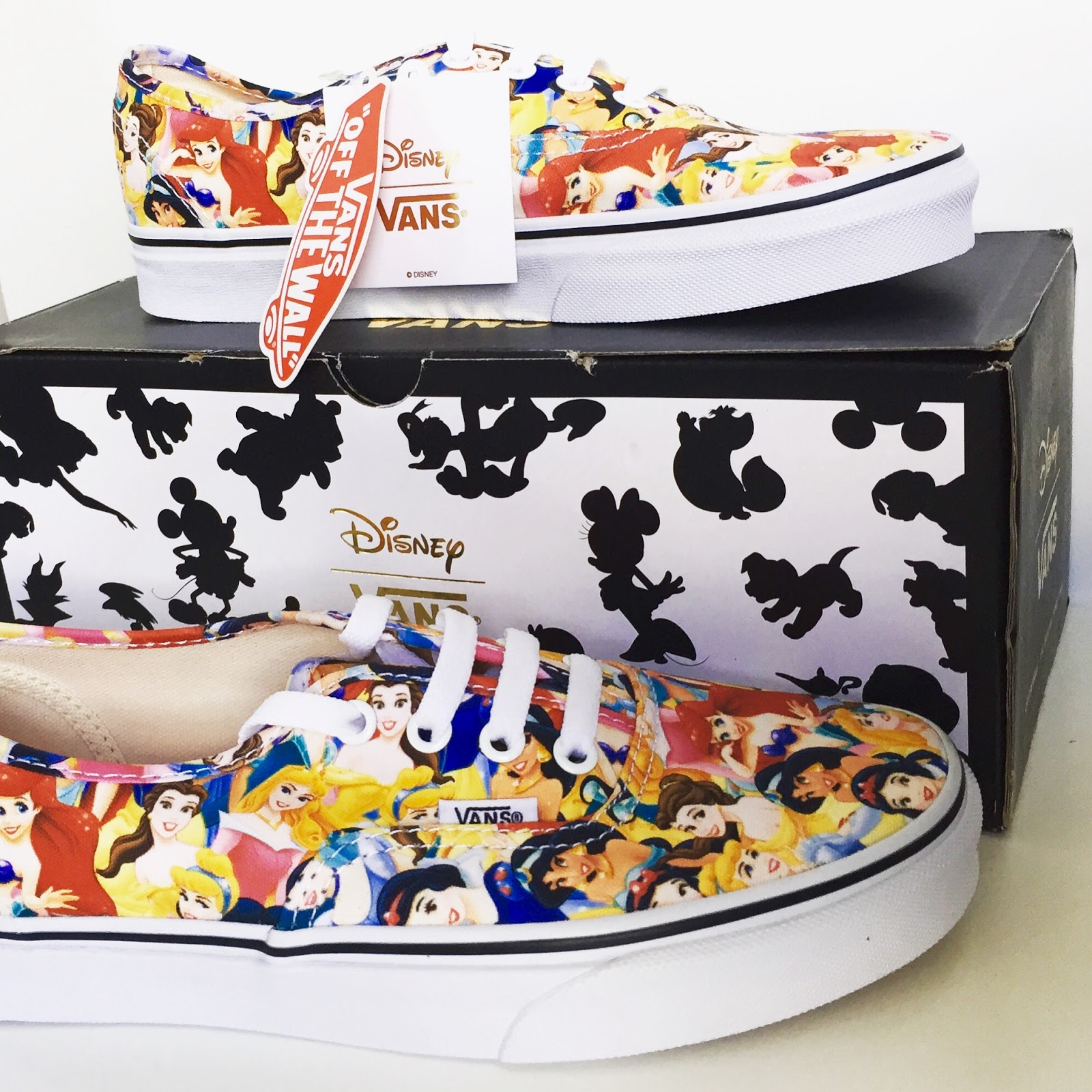 60a27af531f Vans have released adult   children Disney shoes, T-shirts, jumpers, hats,  socks   backpacks. The Disney collab has something for everyone if ...