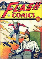 Flash Comics #8 cover image