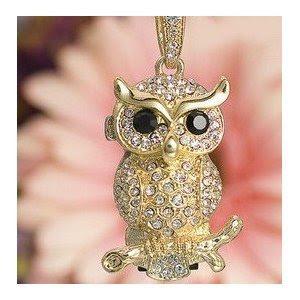Crystal Owl Pendrive