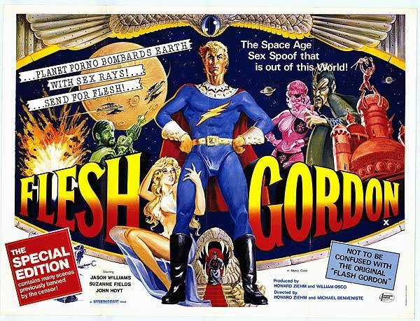 Flesh gordon softcore 1974 - 5 5