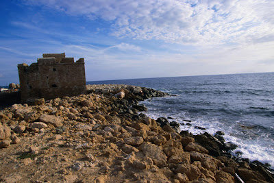 Crusader castle Cyprus