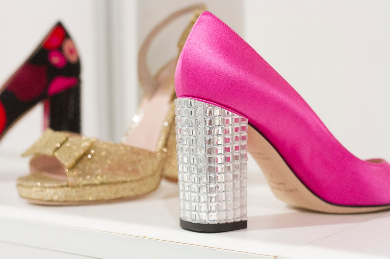 kate spade new york fall 2015 shoe collection pink heels