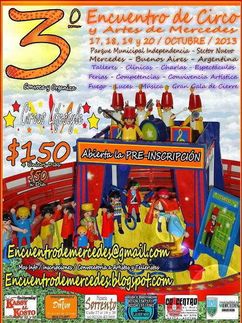 3º Encuentro de Circo y Artes de Mercedes