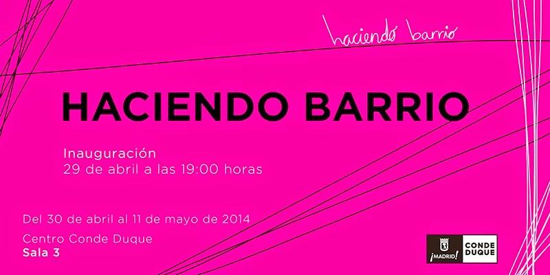 """""""haciendo barrio"""",""""Invitación"""",""""Conde Duque"""",""""Wert"""", """"Papel higiénico"""", """"papel de baño"""",""""arte"""", """"Madrid"""", """"Malasaña"""""""