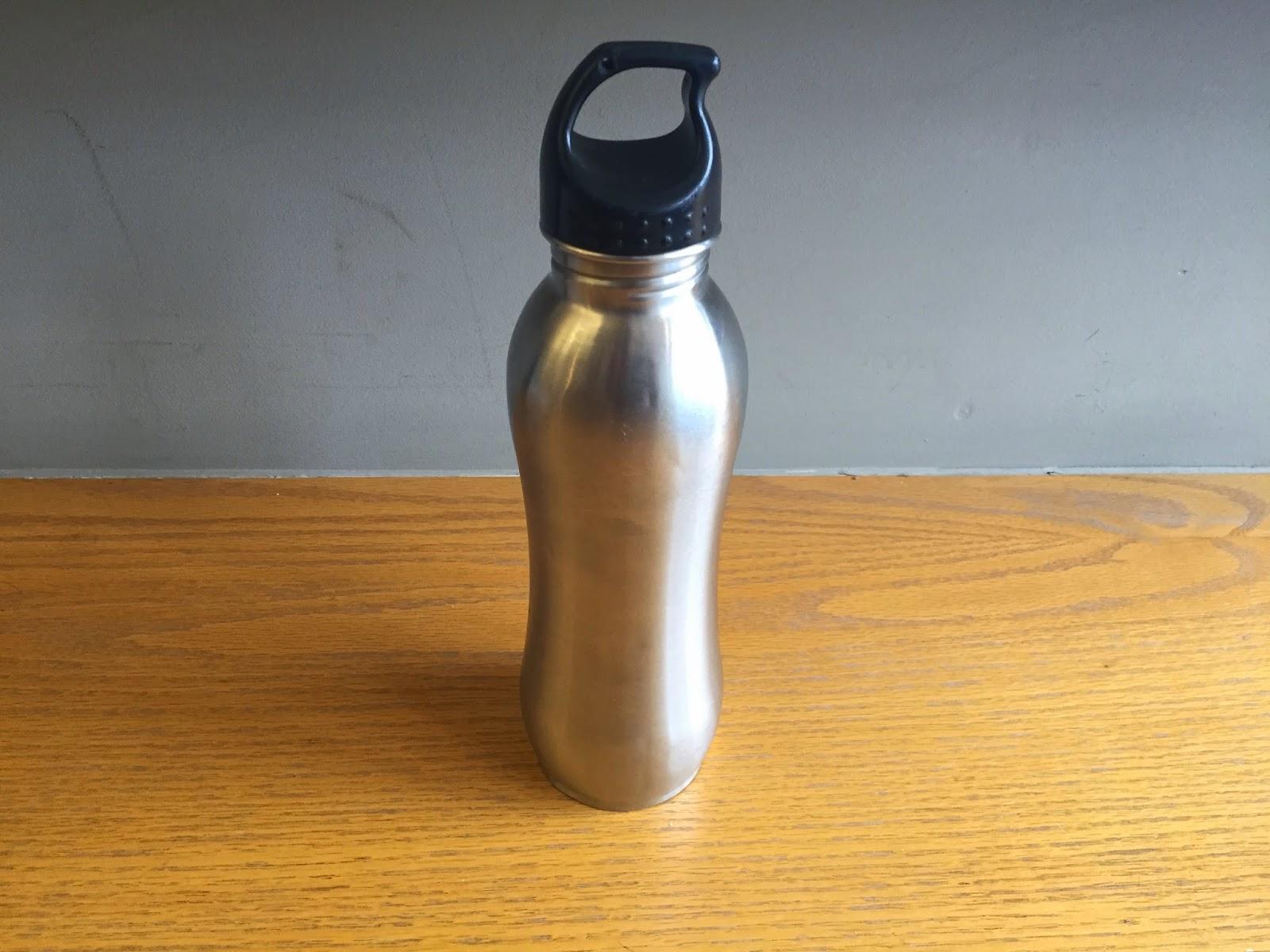 Stainless steel metal water bottle appliance recycling