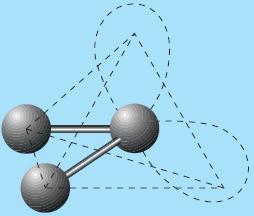 Bentuk molekul H2O