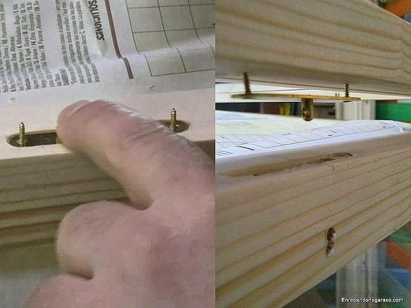 Marcar la posición de la chapa que va en la ventana. Enredandonogaraxe.com
