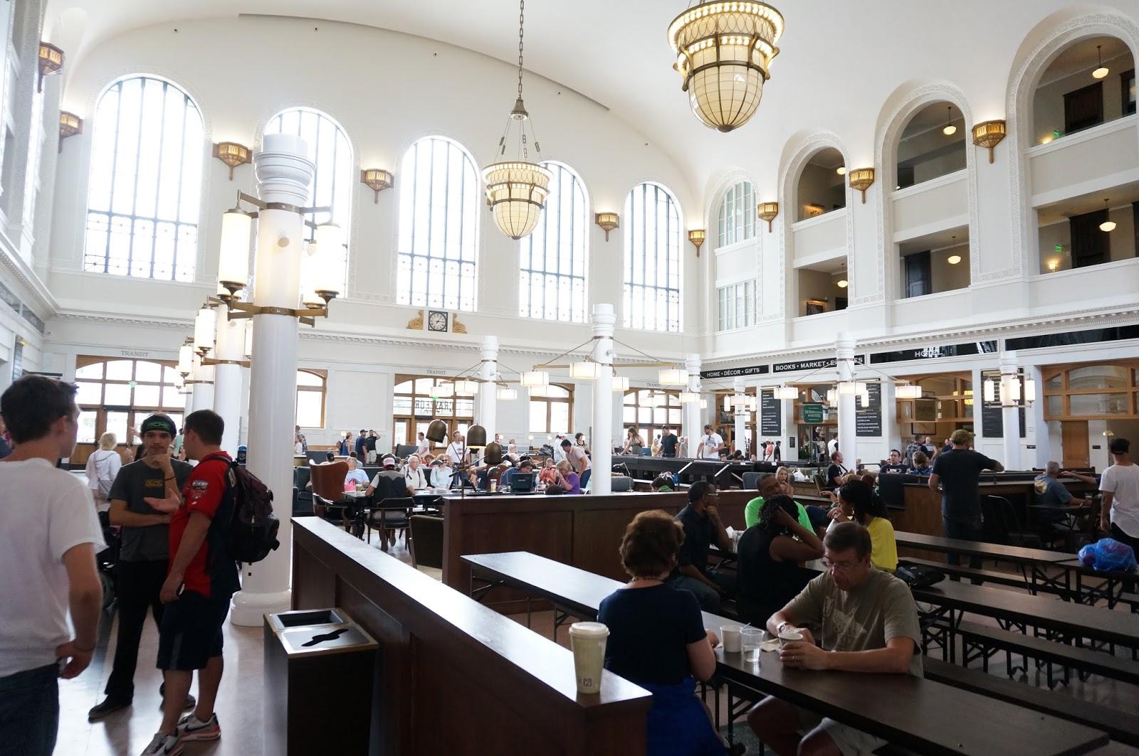 Union Station in Denver lobby