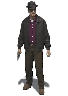 "Mezco 6"" Breaking Bad Walter White figure"