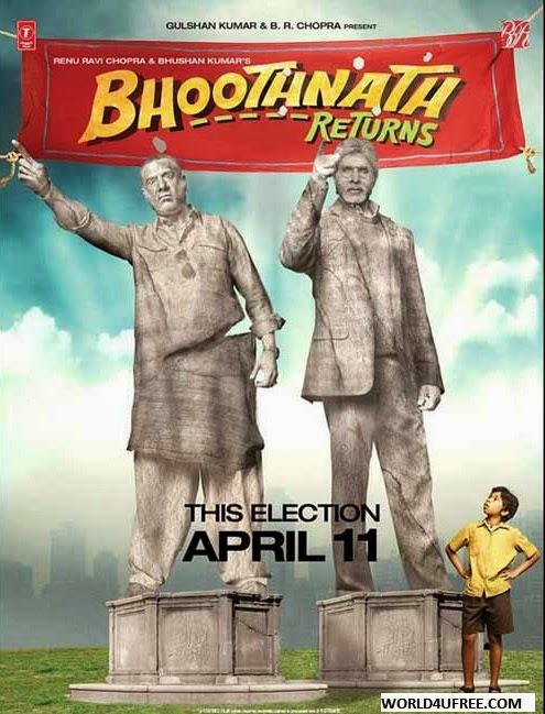 Bhoothnath Returns 2014 DVDScr 350mb Download Watch Online