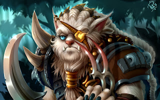 grumpy rengar fan art league of legends champions