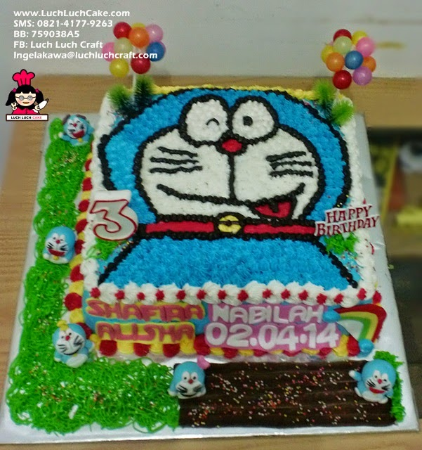Kue Tart Doraemon Cute
