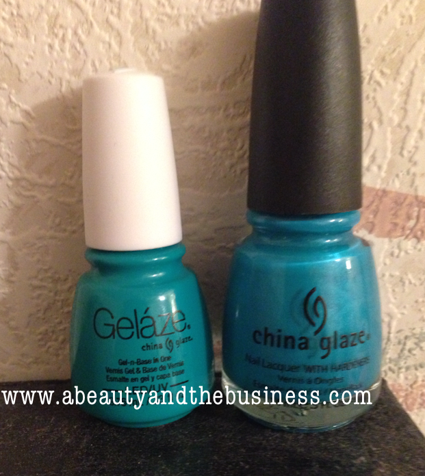 China Glaze: Gelaze Polish In 'Turned Up Turquoise'