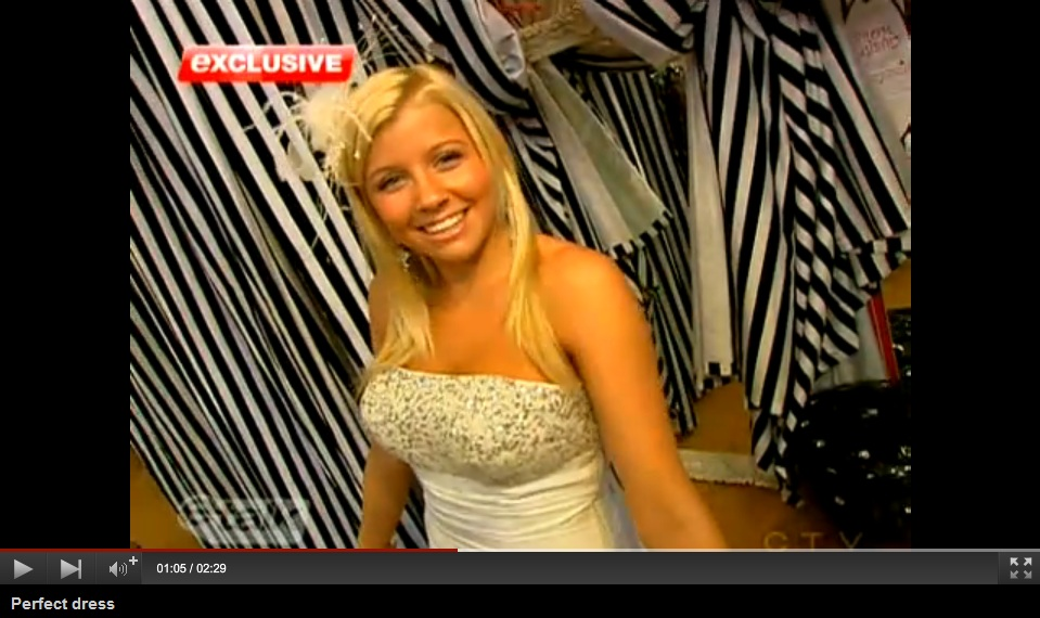 Fashion Crimes Finds Jessica Tyler Her Perfect Prom Dress