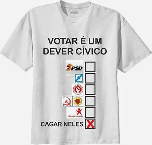 Votar é um dever cívico, Eleições Parlamento Europeu 2014, Alberto Pombo