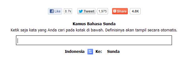 Kamus Bahasa Sunda Halus Online