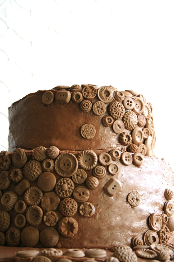 Cake Designs With Chocolate Buttons : The Browy Blog: Chocolate Buttons