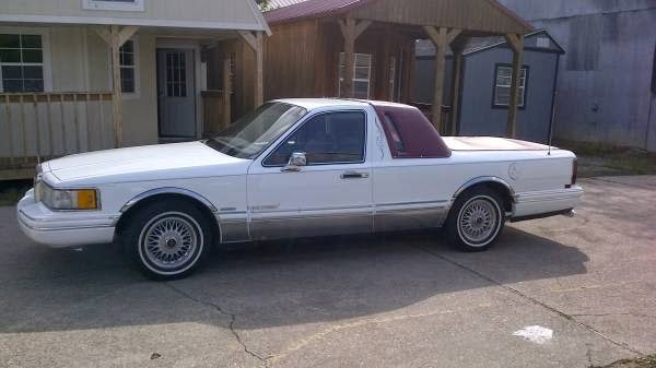 Find This Tragically Named 1991 Lincoln Linchero Offered For 8 500 In Waynesboro Ms Via Craigslist Tip From Sneedy