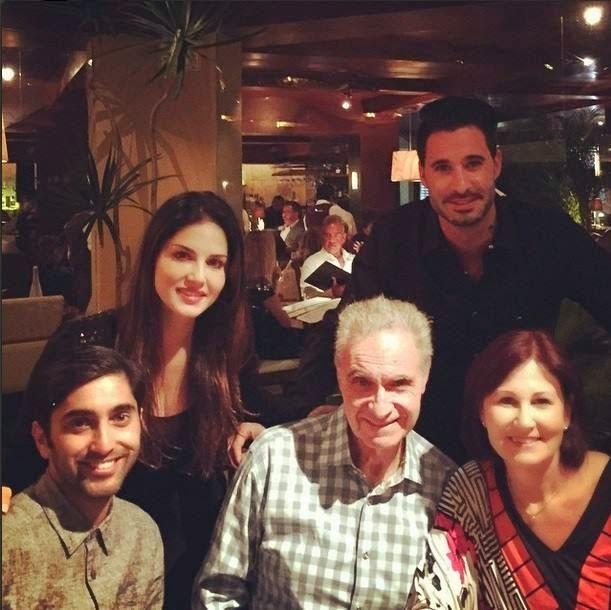sunyy leone family photos
