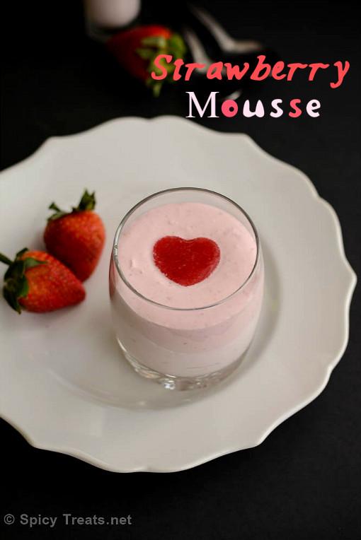 Strawberry Mousse Recipe