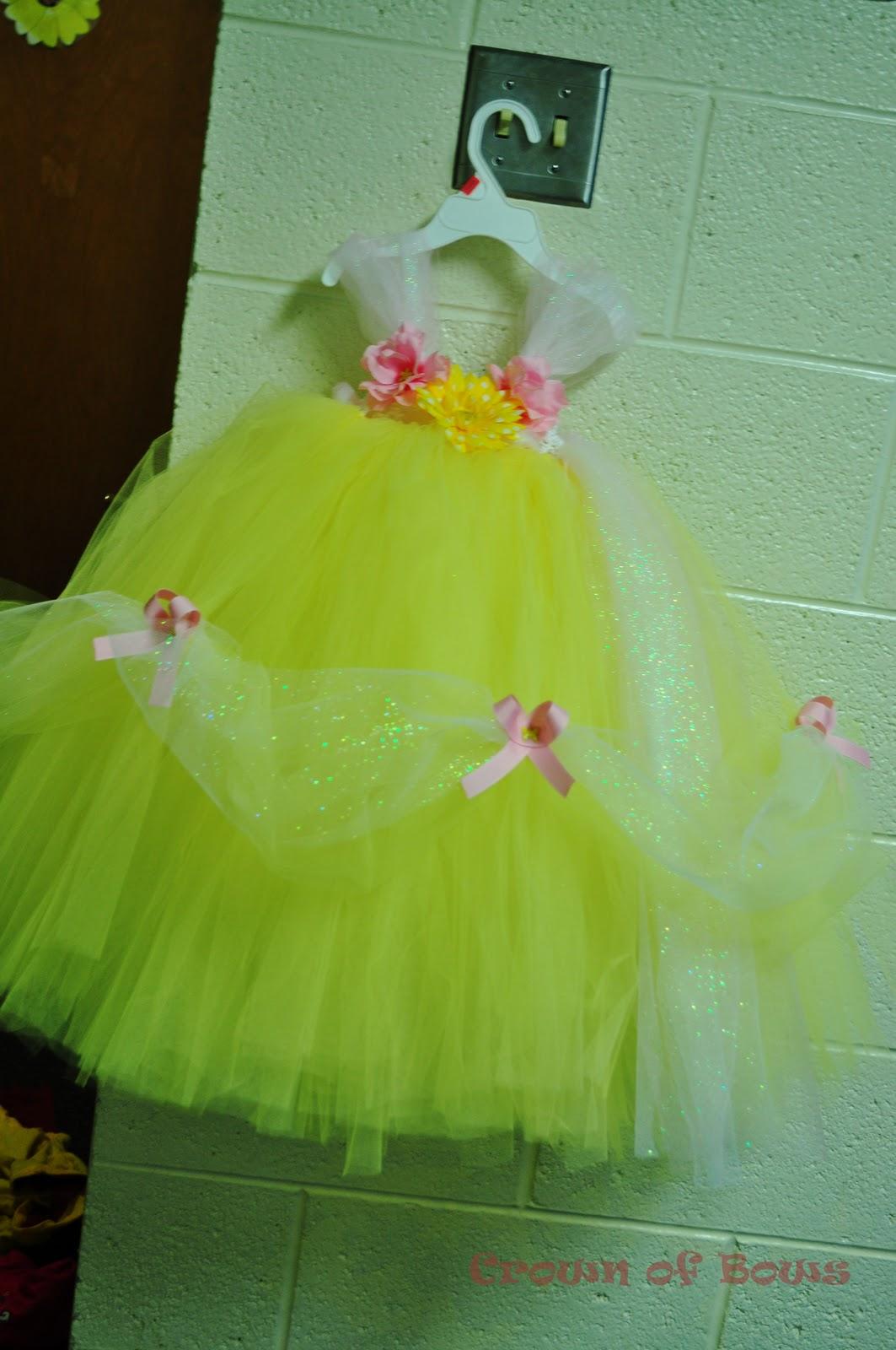 Belle Tutu Dress & ?Time Well Spent?: Belle Tutu Dress