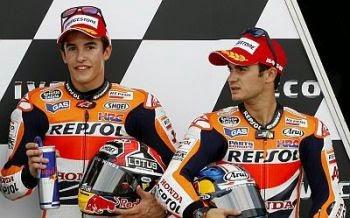 Marquez dan Pedrosa