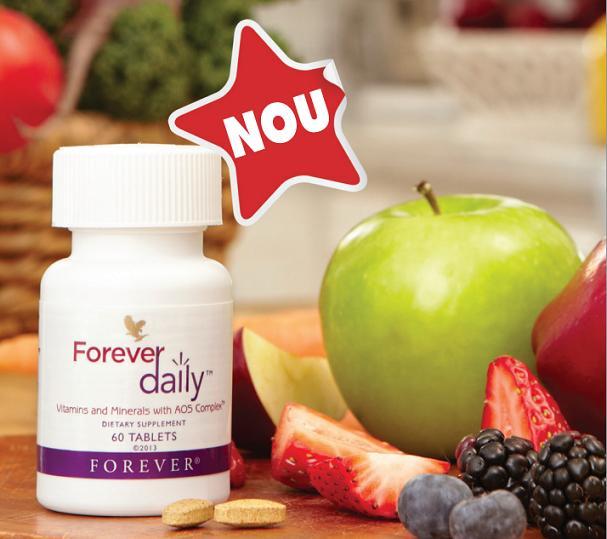 Nou: Forever Daily cu 50 de nutrienti