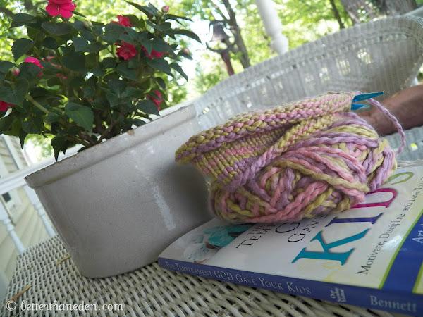 Yarn Along - 5/22/13