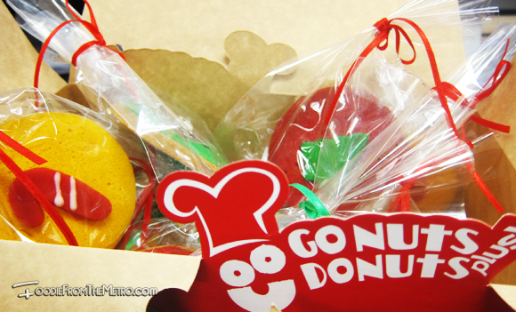 Foodie from the Metro - GoNuts Donuts Christmas Cookies