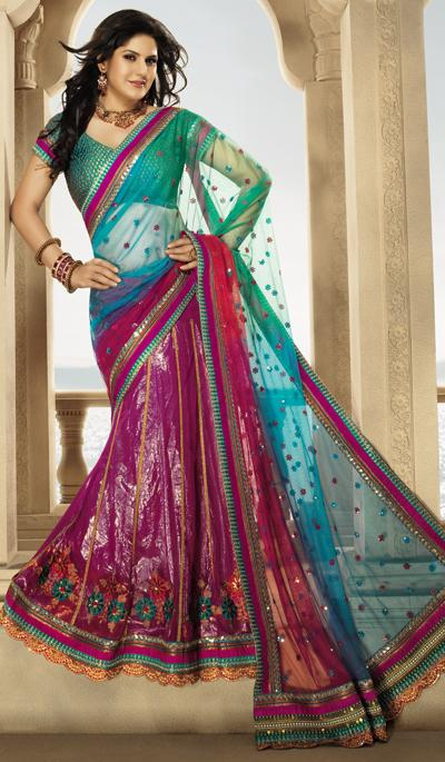 Embroidery Designs  45  Latest Sarees Fancy Sarees