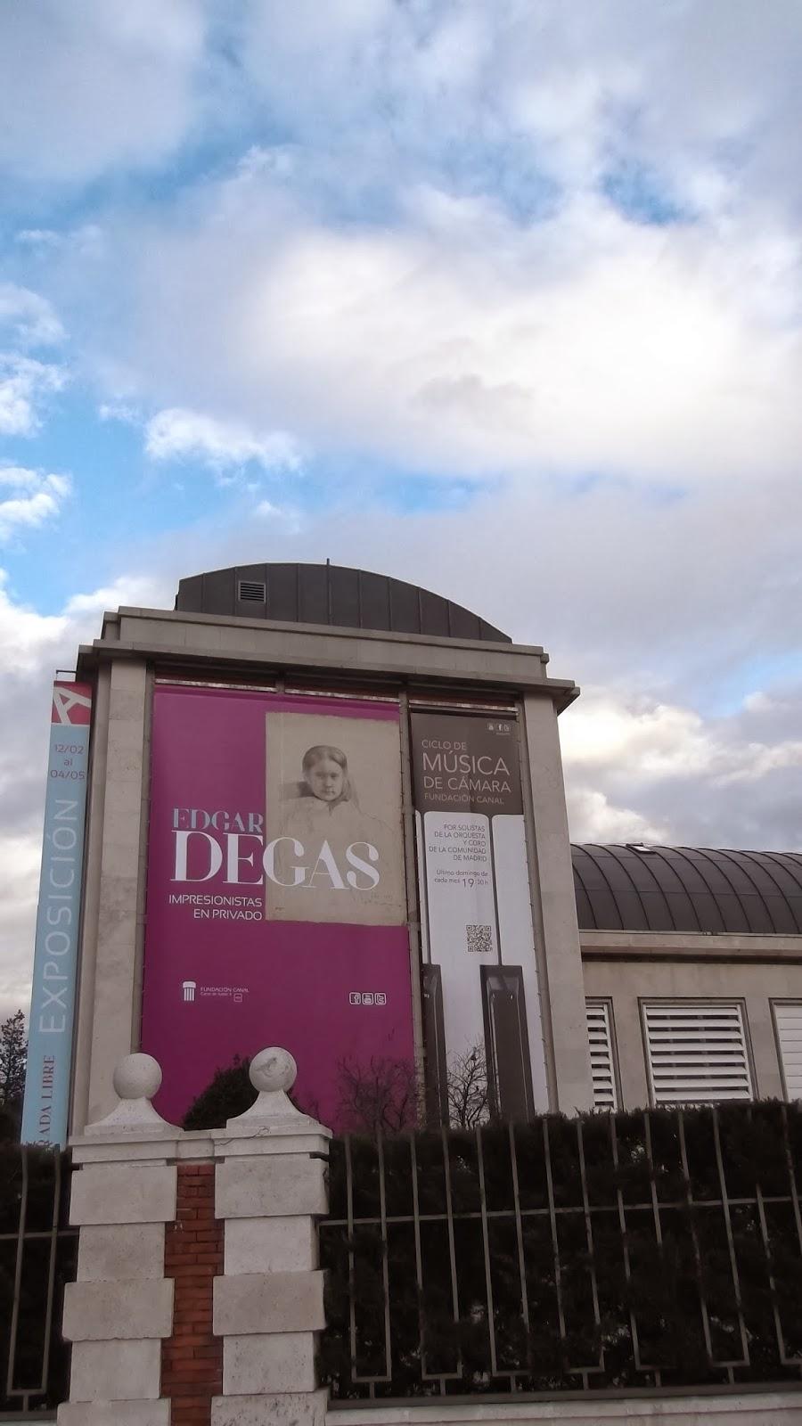 """""""Degas"""", """"Madrid"""", """"Fundación Canal"""", """"Fernando Alonso"""", """"dibujos"""""""