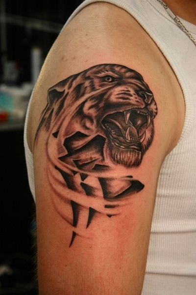 wild tattoos tiger tattoo designs. Black Bedroom Furniture Sets. Home Design Ideas
