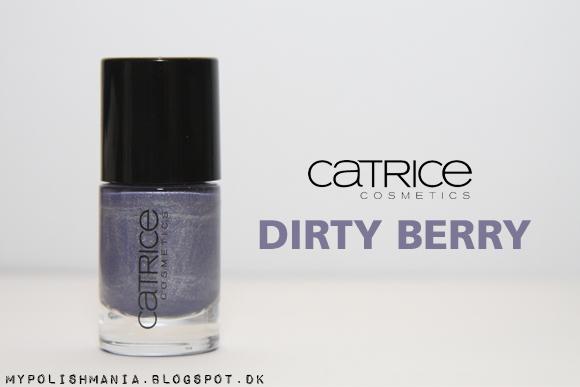Catrice 420 Dirty Berry Nail Polish