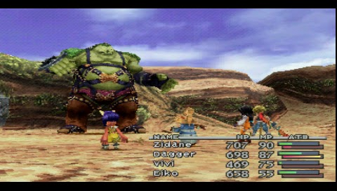 Final Fantasy IX, Mountain Path Boss