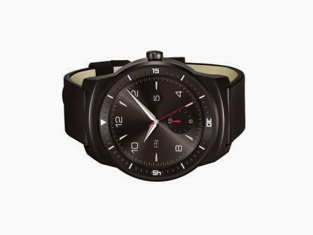 LG rilis G Watch R, smartwatch pertama dengan OS Android Wear