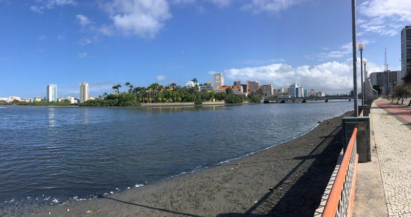 Rio Beberibe e Ilha de Antônio Vaz